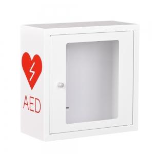 Szafka na defibrylator AED z alarmem dżwiękowym (ASB1010)